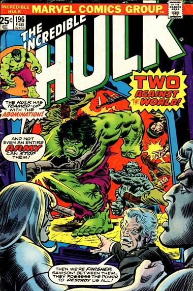 The Incredible Hulk 196 - The Abomination Proclamation