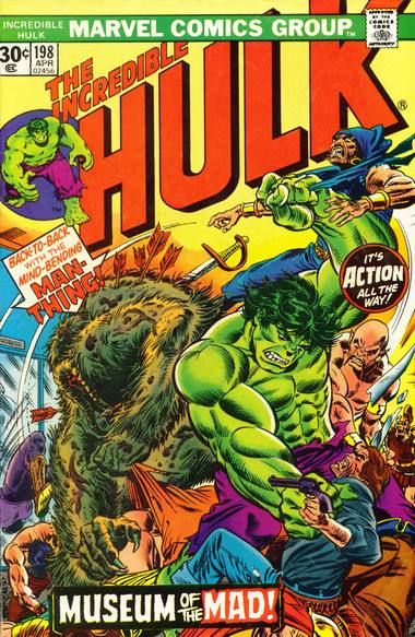 The Incredible Hulk 198 - The Shangri-La Syndrome!