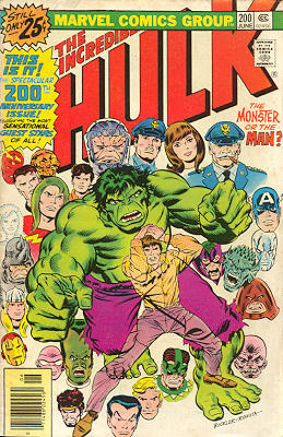 The Incredible Hulk 200 - An Intruder in the Mind!
