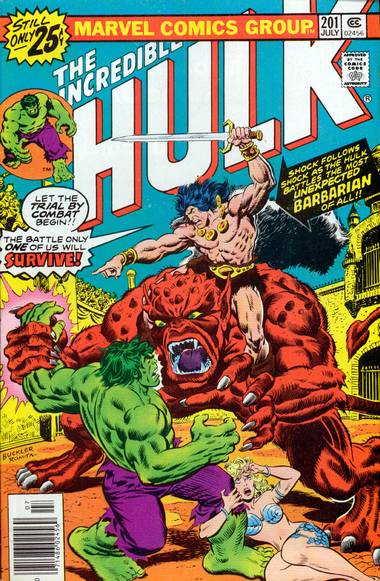 The Incredible Hulk 201 - The Sword and the Sorcerer!