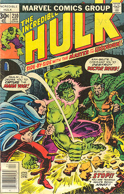 The Incredible Hulk 210 - And Call the Doctor... Druid!