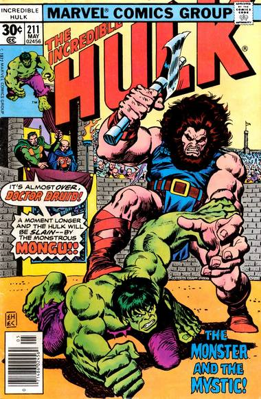 The Incredible Hulk 211 - The Monster and the Mystic!