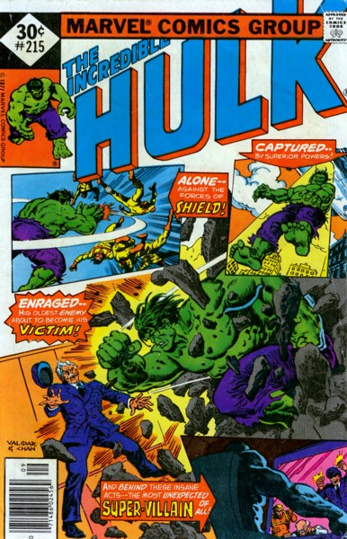 The Incredible Hulk 215 - Home is Where the Hurt Is