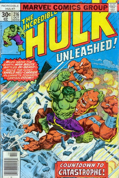 The Incredible Hulk 216 - Countdown to Catastrophe!