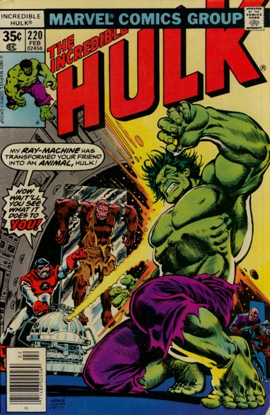 The Incredible Hulk 220 - Fury at 5000 Fathoms!