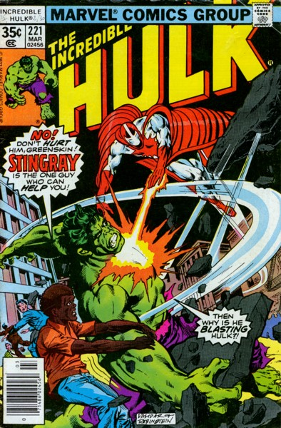 The Incredible Hulk 221 - Show Me The Way To Go Home