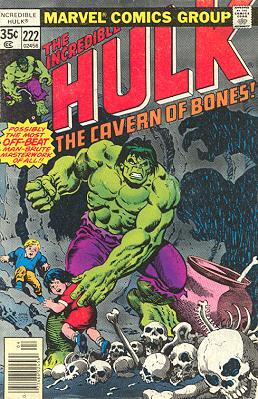 The Incredible Hulk 222 - Feeding Billy