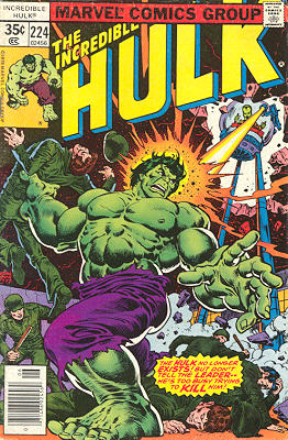The Incredible Hulk 224 - Follow the Leader!