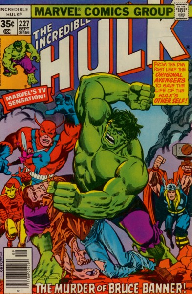 The Incredible Hulk 227 - The Monster's Analyst