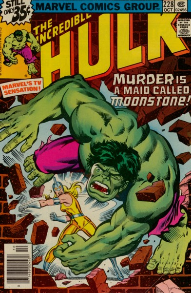 The Incredible Hulk 228 - Bad Moon on the Rise!