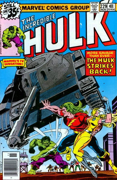 The Incredible Hulk 229 - The Moonstone is a Harsh Mistress!