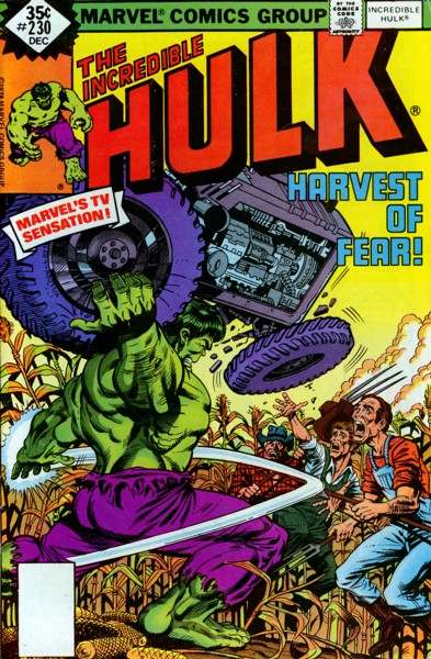 The Incredible Hulk 230 - The Harvester From Beyond!