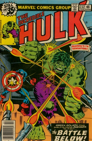 The Incredible Hulk 232 - The Battle Below