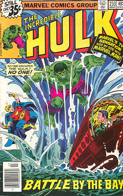 The Incredible Hulk 233 - The Bottom of the Bay