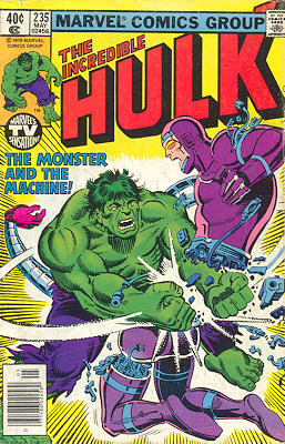 The Incredible Hulk 235 - The Monster and the Machine