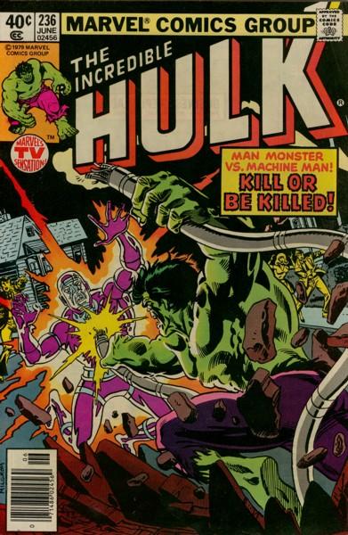 The Incredible Hulk 236 - Kill Or Be Killed!