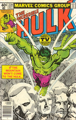 The Incredible Hulk 239 - All That Glitters...
