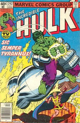 The Incredible Hulk 242 - Sic Semper Tyrannus