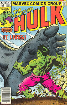 The Incredible Hulk 244 - It Lives!