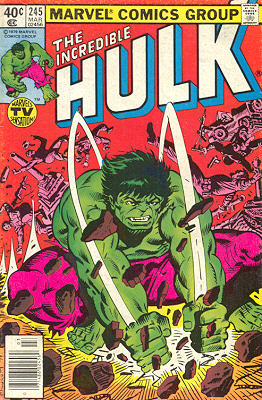 The Incredible Hulk 245 - When the Hulk Comes Raging!