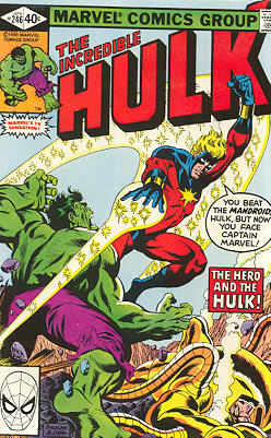The Incredible Hulk 246 - The Hero and the Hulk