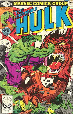 The Incredible Hulk 247 - Tarella's World