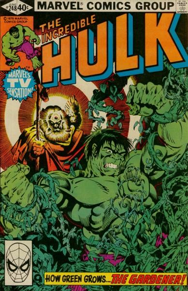 The Incredible Hulk 248 - How Green My Garden Grows!
