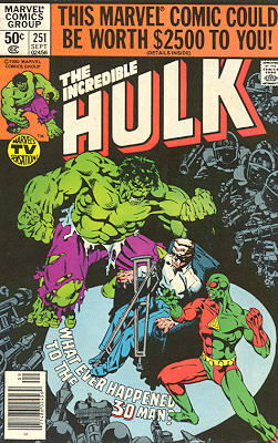 The Incredible Hulk 251 - Whatever Happened to the 3-D Man?