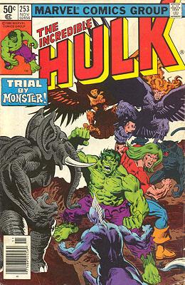 The Incredible Hulk 253 - The Changelings Part II!