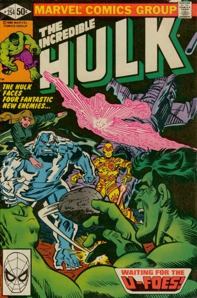 The Incredible Hulk 254 - Waiting for the U-Foes!