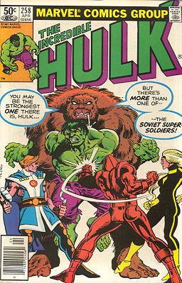 The Incredible Hulk 258 - ...To Hunt the Hulk!