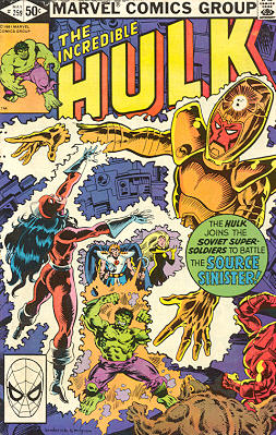 The Incredible Hulk 259 - The Family That Dies Together...!