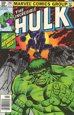 The Incredible Hulk 261 - Encounter on Easter Island!