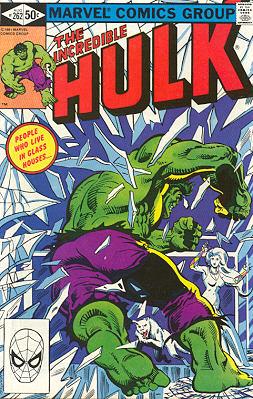 The Incredible Hulk 262 - People in Glass Houses Shouldn't Hurt Hulks!