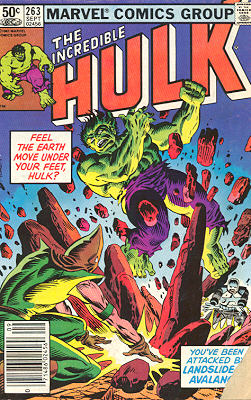 The Incredible Hulk 263 - I Feel the Earth Move Under My Feet, and the Sky Come Tumbli...