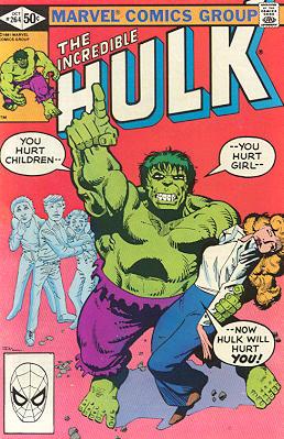 The Incredible Hulk 264 - He Flies By Night!