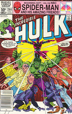 The Incredible Hulk 266 - Devolution!
