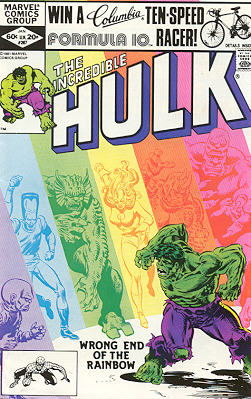 The Incredible Hulk 267 - What a Day For a Daydream!