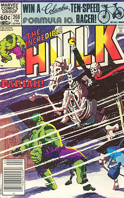 The Incredible Hulk 268 - And They Called the Wind Pariah!