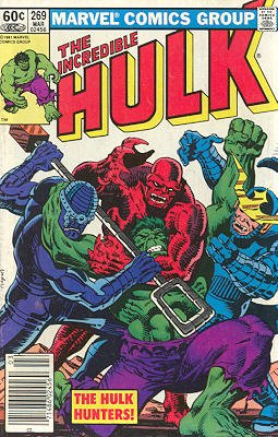 The Incredible Hulk 269 - The Hulk-Hunters!