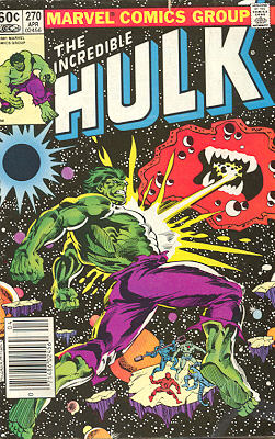 The Incredible Hulk 270 - The Goliath, the Gargoyle and the Galaxy Master!