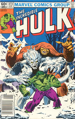 The Incredible Hulk 272 - Weirdsong of the Wen-Di-Go!