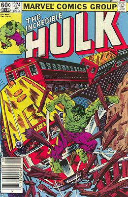 The Incredible Hulk 274 - Home the Hard Way!