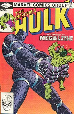 The Incredible Hulk 275 - Megalith!