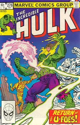 The Incredible Hulk 276 - The Return of the U-Foes!