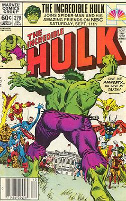 The Incredible Hulk 278 - Amnesty!