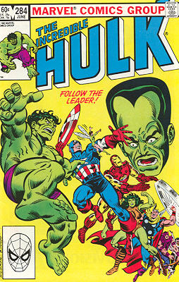 The Incredible Hulk 284 - Time-Lost!