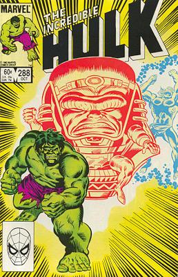The Incredible Hulk 288 - Yellow Fever?