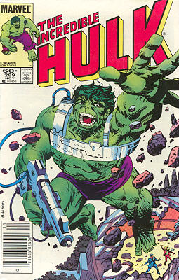 The Incredible Hulk 289 - A.I.M. For The Top!