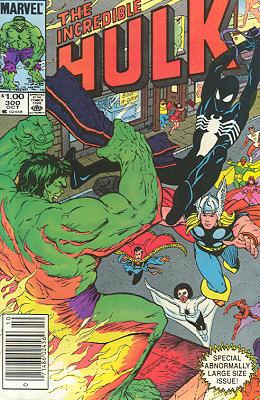 The Incredible Hulk 300 - Days of Rage!